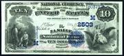 1882 $10 National Bank Notes Blue Seal