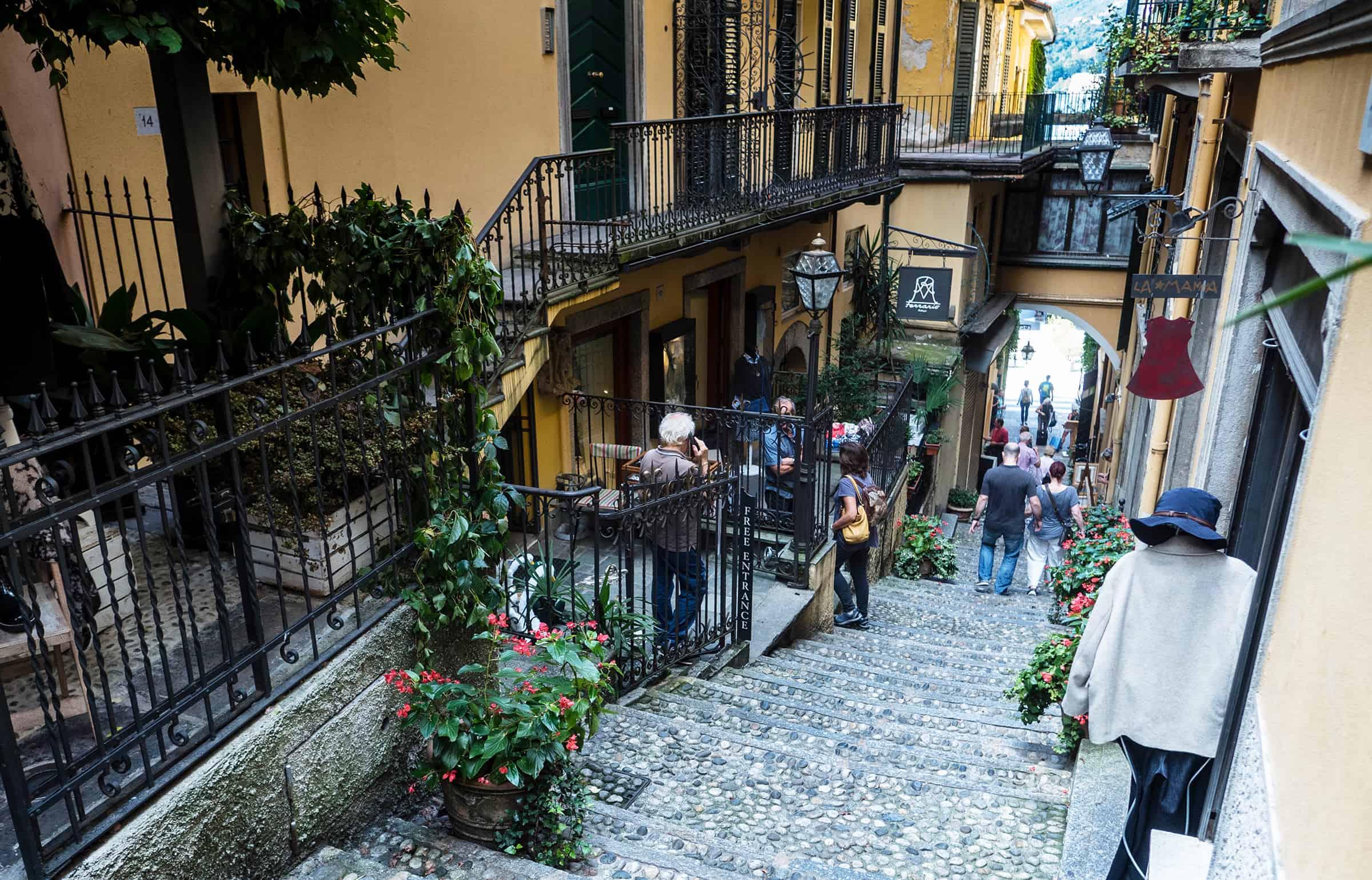 Het leuke dorp Bellagio 1