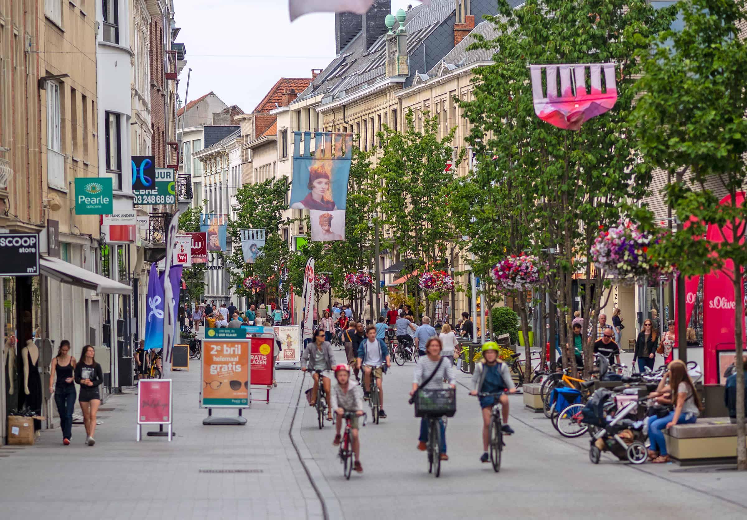 Winkelen in Mechelen