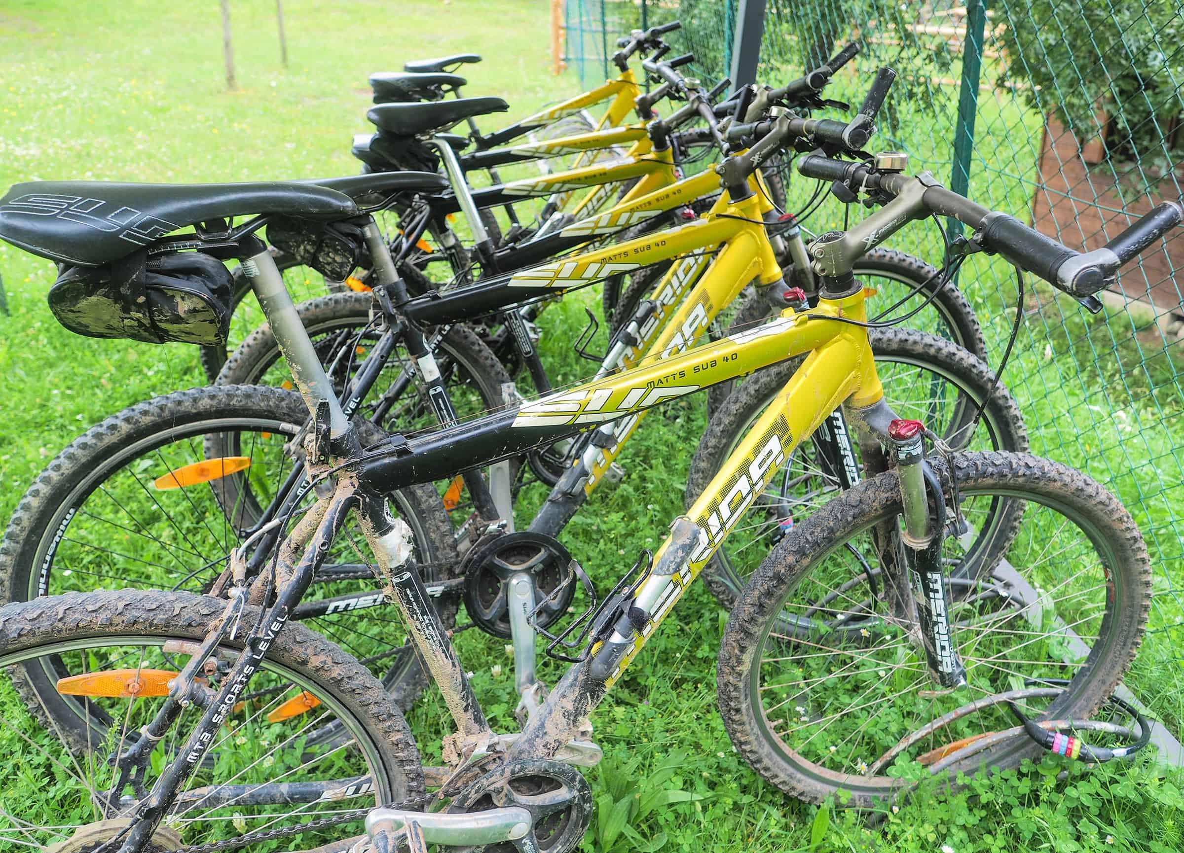 Mountainbikes te huur