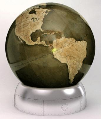 Churchill Globe by Bellerby Globemakers.