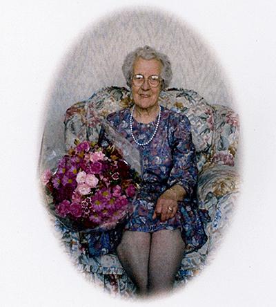 In loving memory of my Grandmother Elsie Johnson