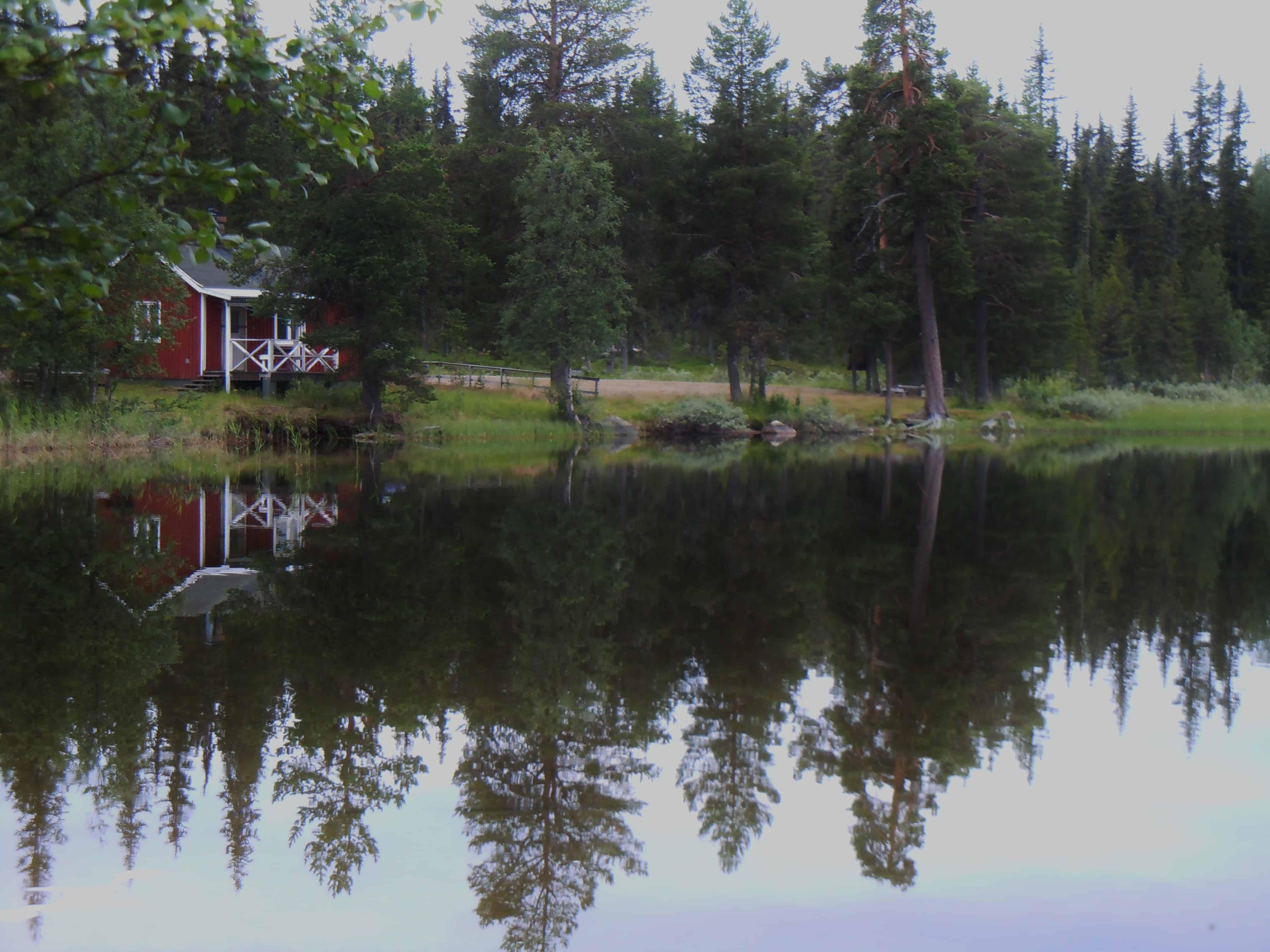 Schitterende outdoors van Arvidsjaur, Zweden