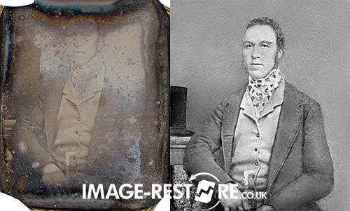 Daguerreotype restored
