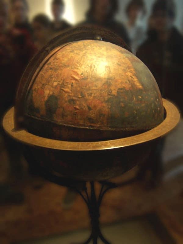 Martin Behaim's globe, 1492.