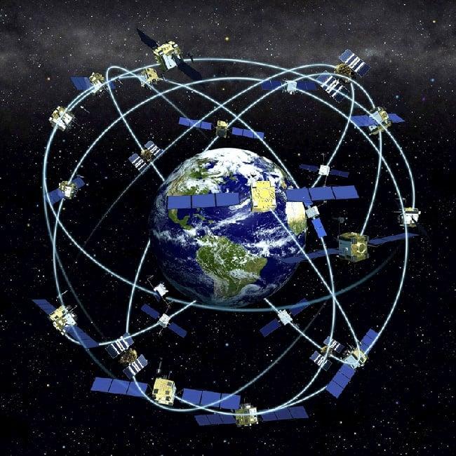 Satellite constellation. Image: NOAA, public domain