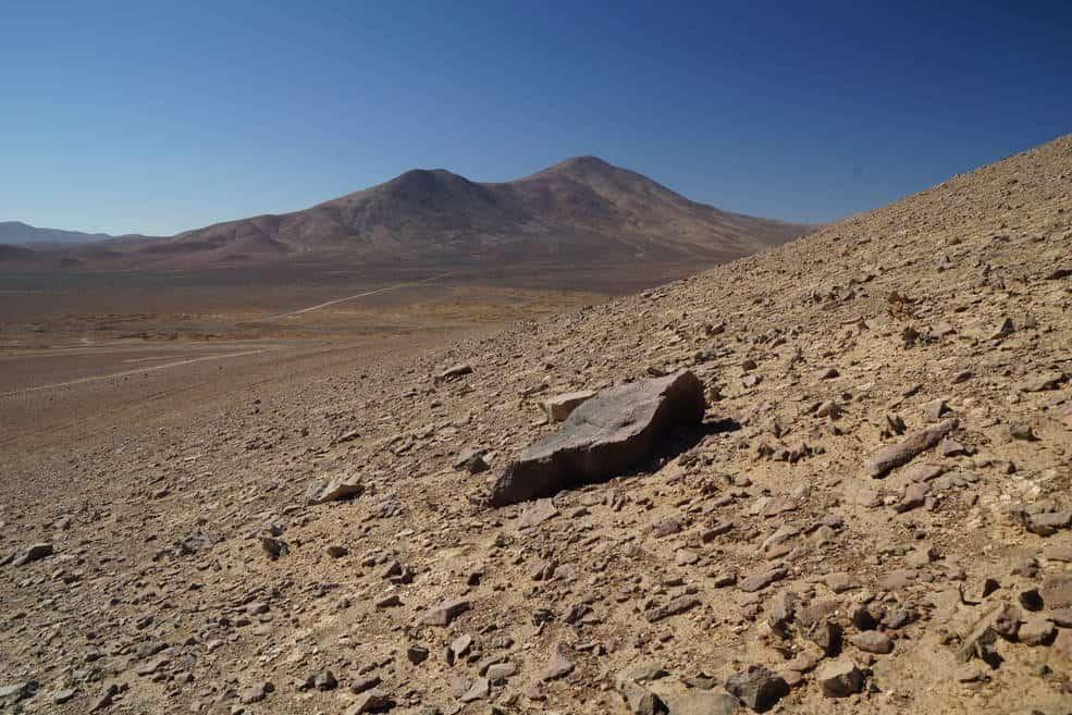 The Atacama Desert in Chile has a harsh and dry climate. Photo: Credits: NASA/JPL-Caltech, public domain.