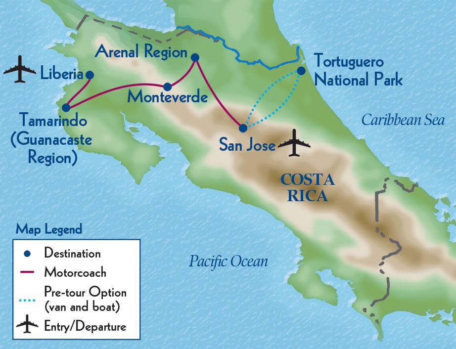 Costa Rica's Natual Hertiage