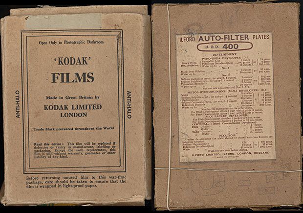 Old Photographic Glass Plates