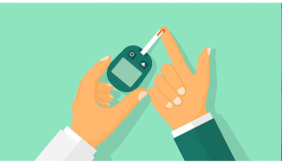 Finger Prick Blood Glucose Glucometer