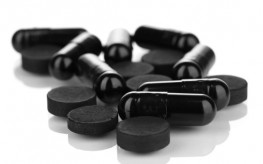 activated charcoal or carbon