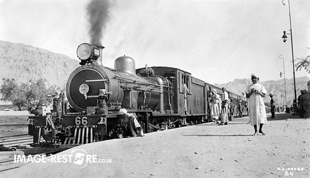 Pakistan Mari Indus Railway Station