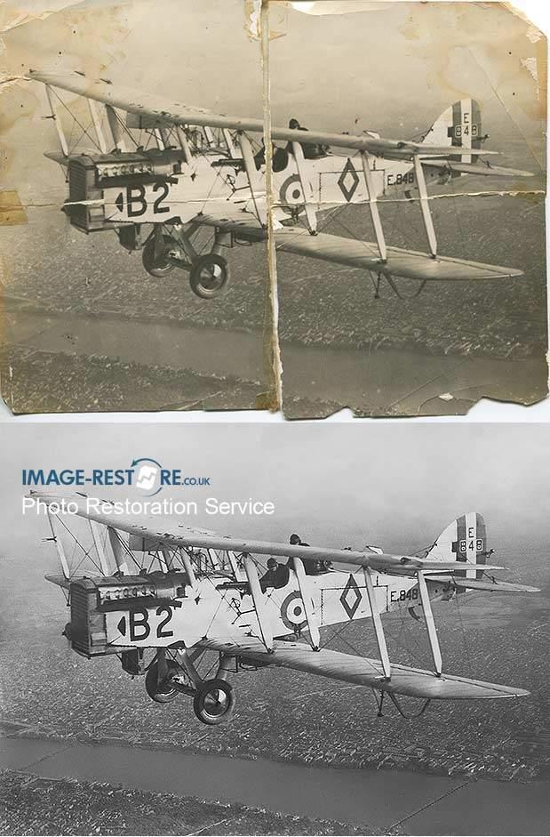 WW1 Biplane Fighter Pilot restoration