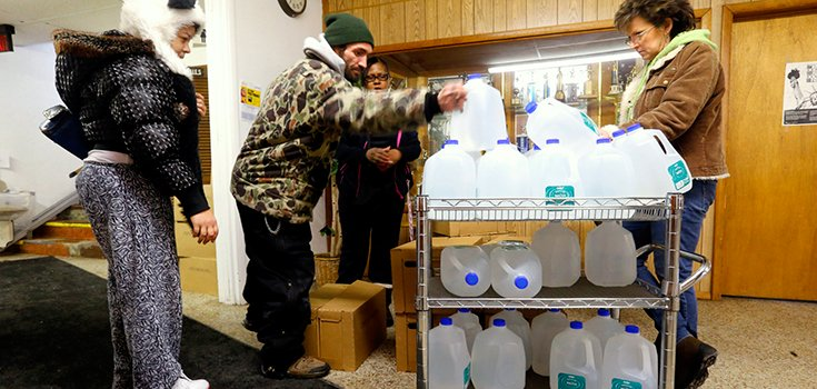Tribe Donates $10,000 to Help Save Flint, Michigan Residents from Toxic Water