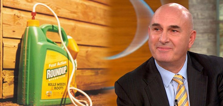 """Audio: Monsanto CEO Hugh Grant Says """"Roundup is Not a Carcinogen"""""""