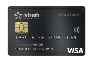 Refresh Financial Secured Visa