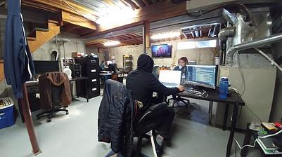 Cris Ravazzano Basement Office