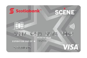 Scotiabank Scene Visa Card