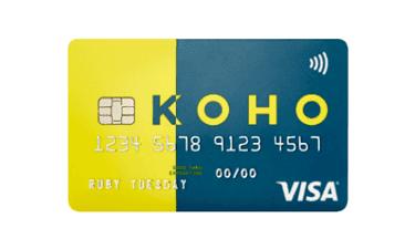 KOHO Prepaid Visa Card