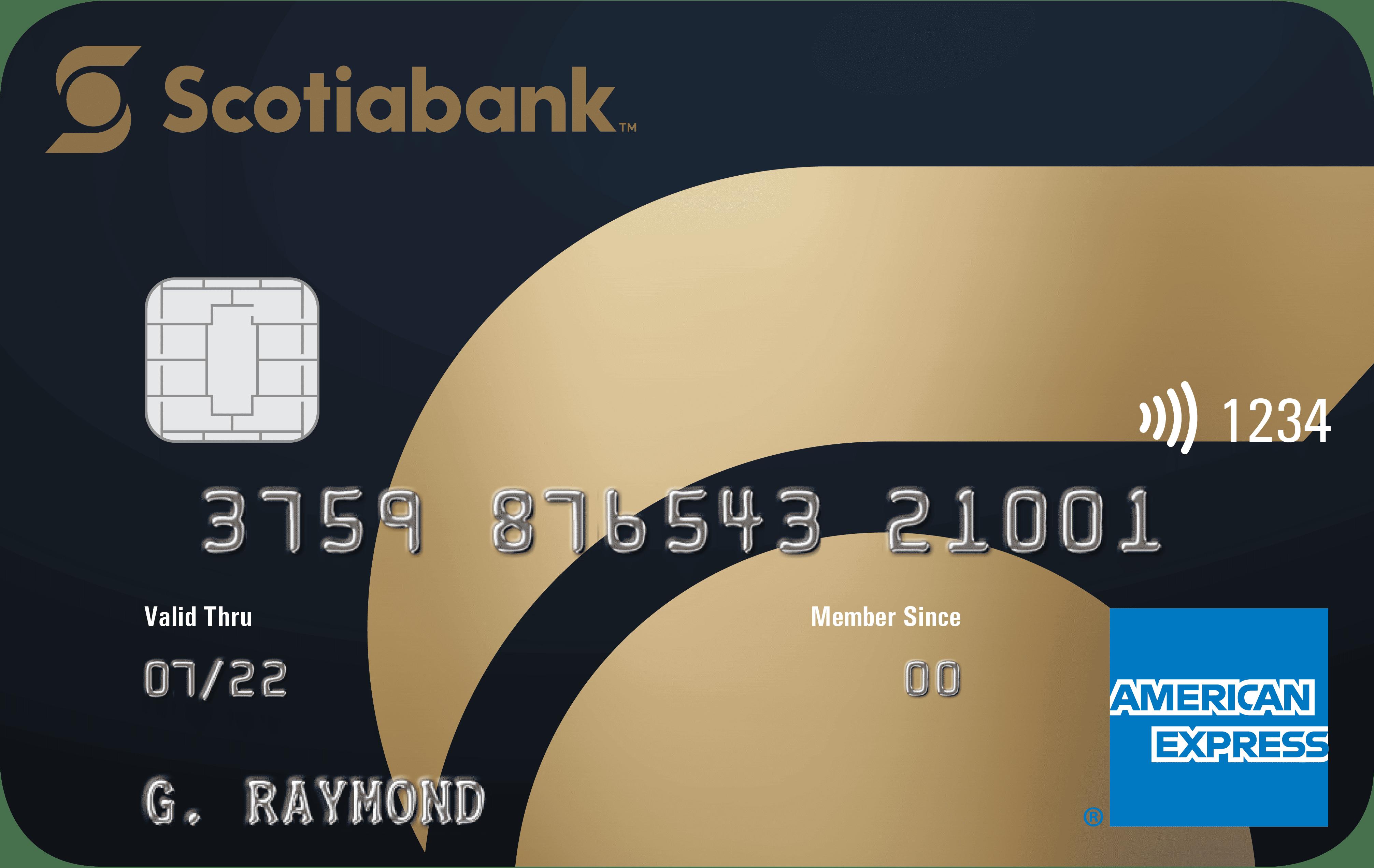 Scotiabank® Gold American Express® Card