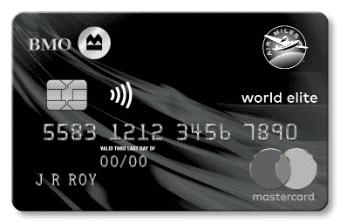 BMO AIR MILES® World Elite® MasterCard®