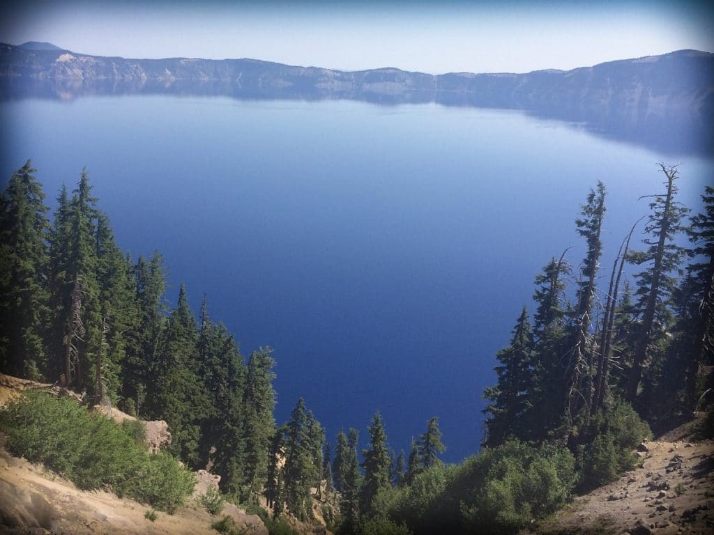 Crater Lake National Park, one of the national parks in the west