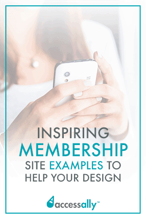 Check out these membership site examples to get inspired for your own membership site design. Simple, elegant and profitable membership site ideas to get the wheels turning. #membershipsites #onlinecourses #digitalmarketing #wordpress