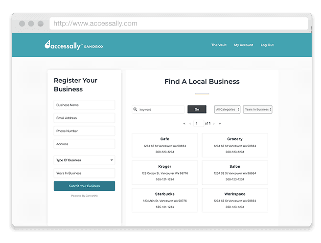 online directory for chamber of commerce