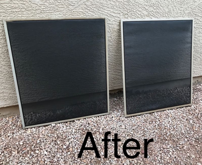 After Screen Cleaning