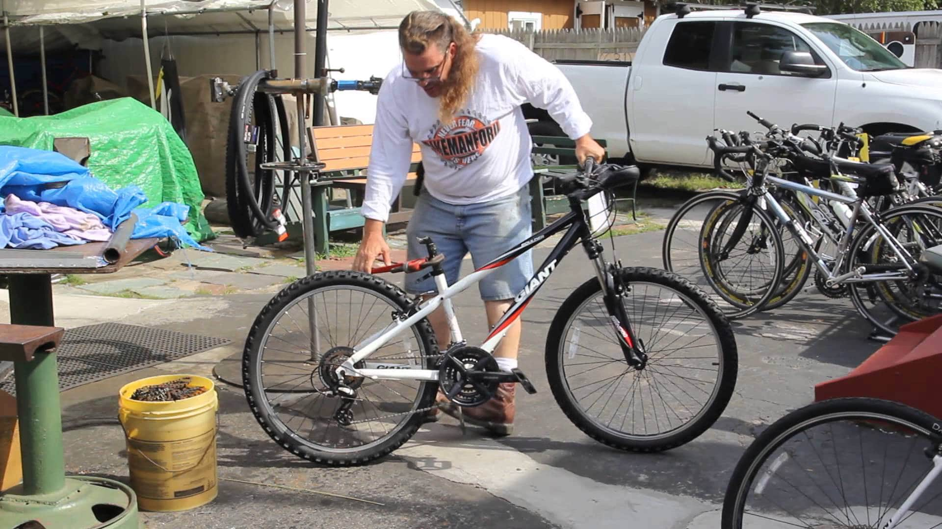 How to Set Your Mountain Bike Seat Height
