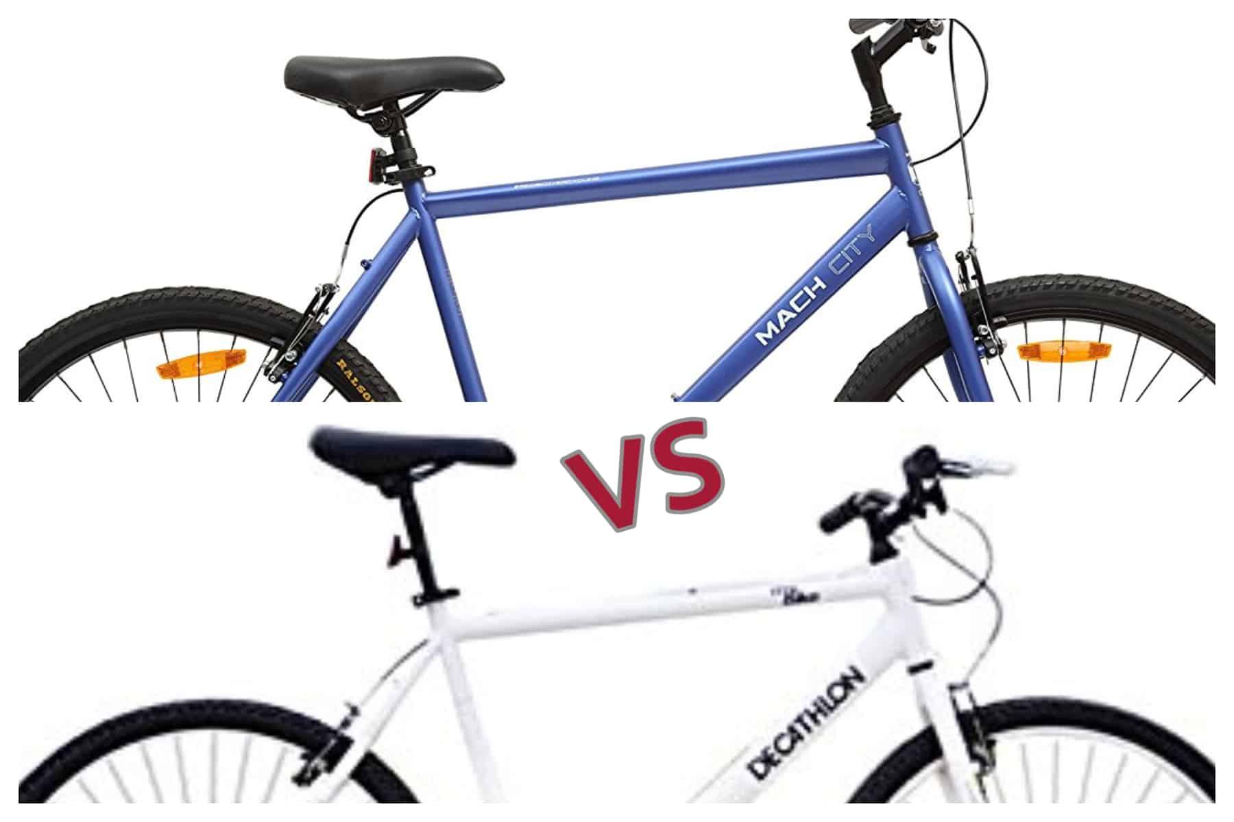 Btwin My Bike vs Mach City ibike Review