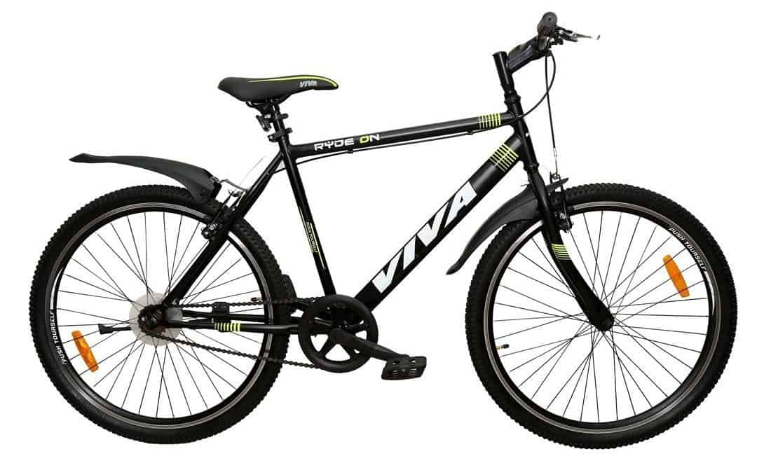 Viva Ryde On 26T Single Speed Cycle Review & Price in India