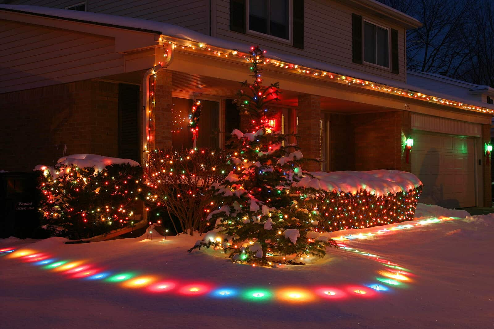 How to hang holiday lights with Gutter Guards