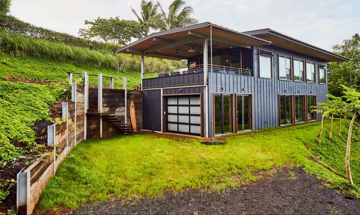 Off Grid Home Feature