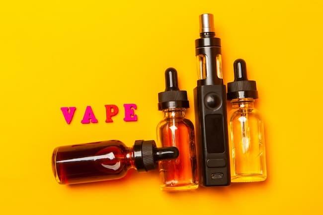 Vape juice and vape pen