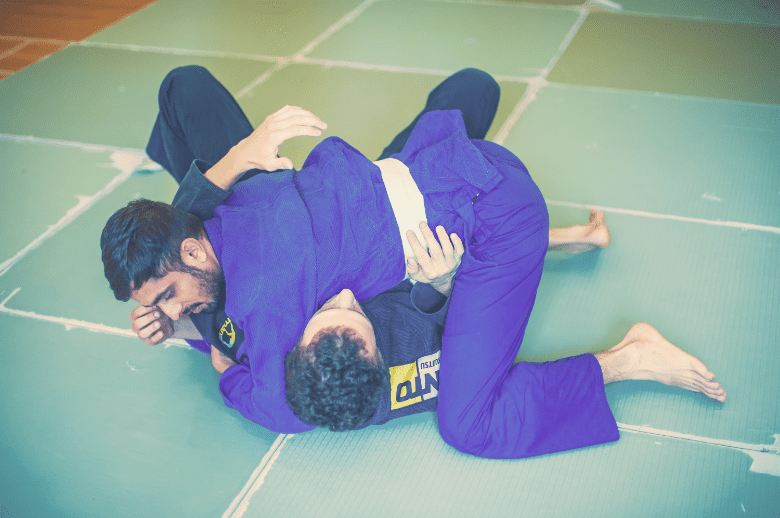 bjj instructor student