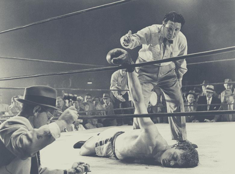 boxer ko in ring