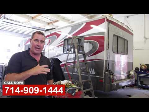 RV Roof Replacement Repair in Orange County CA
