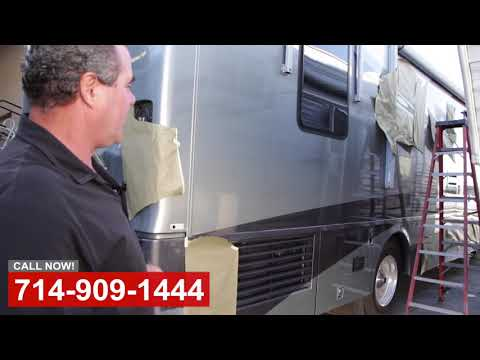 RV Paint Shop in Orange County CA