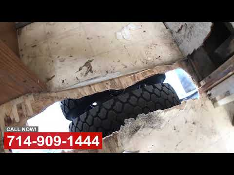 Tire Blowout Damage Repair in Orange County CA