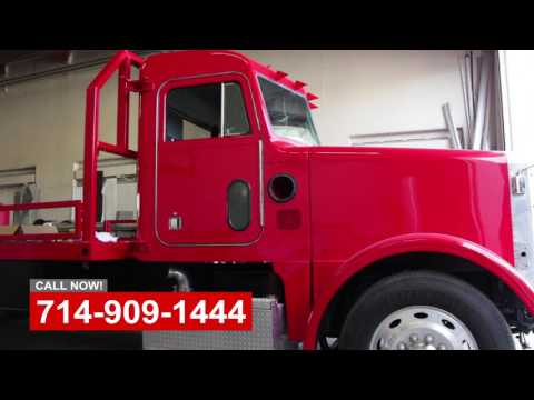 Truck Paint Shop In Orange County California