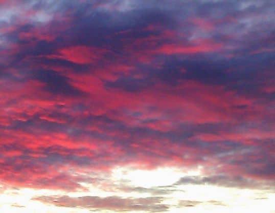 Stormy Sunset Robin Hallett