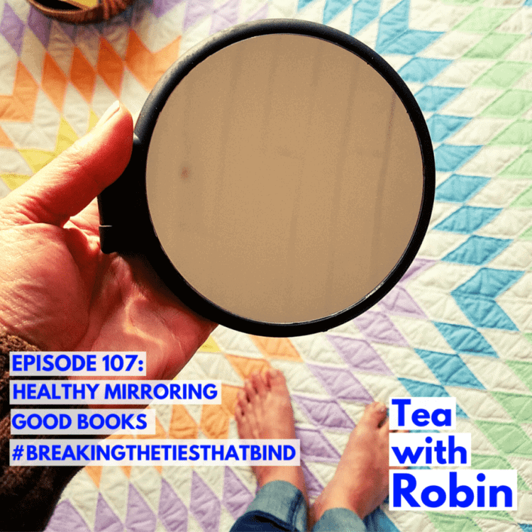 What does healthy mirroring look like? On receiving help for yourself. And why that's okay.