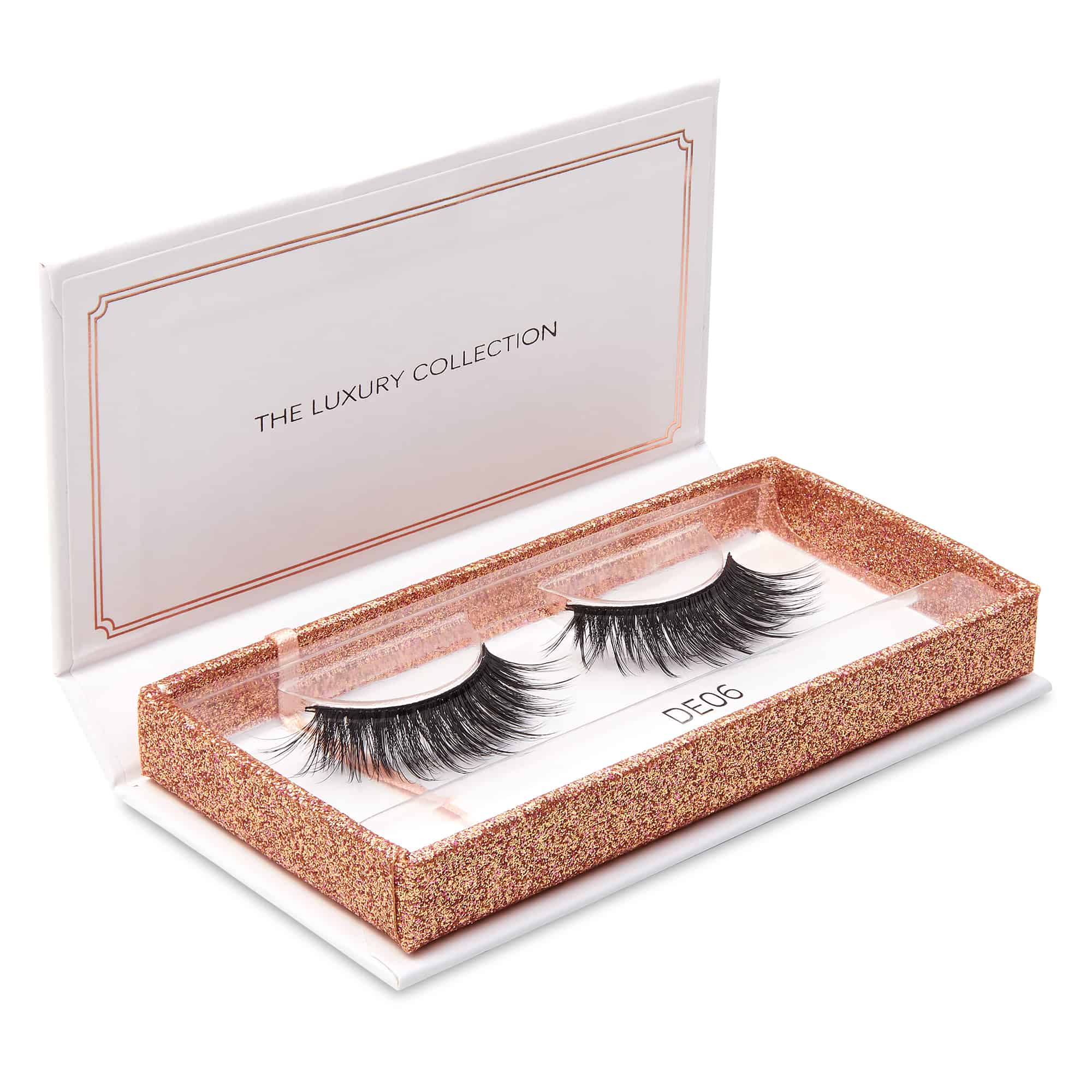 Eyelash packshot photography for website e-commerce and advertising usage by Ian Knaggs