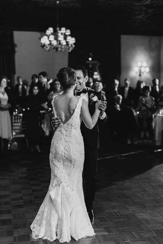 New York City New York Athletic Club Wedding