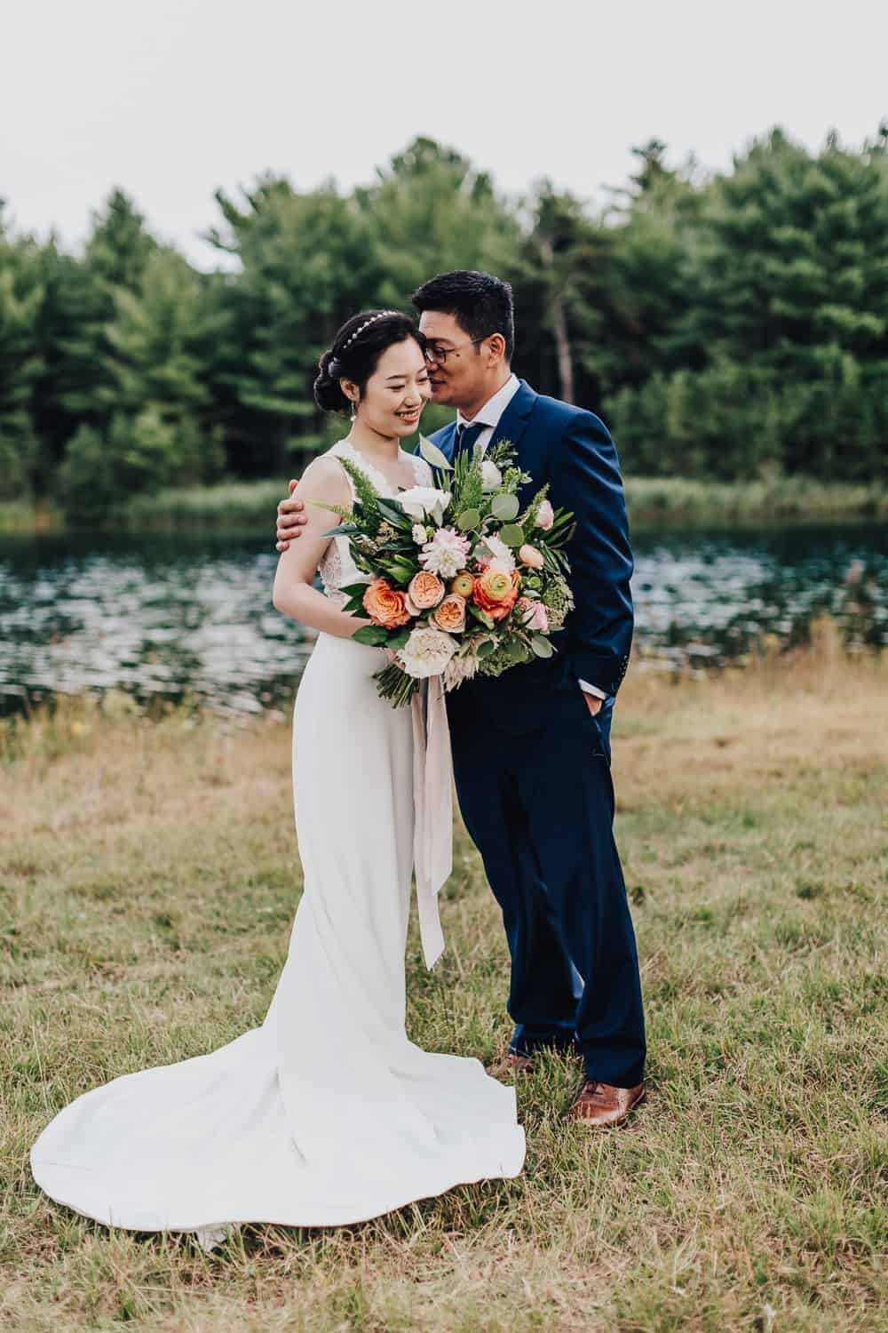 New England Wedding in the Woods