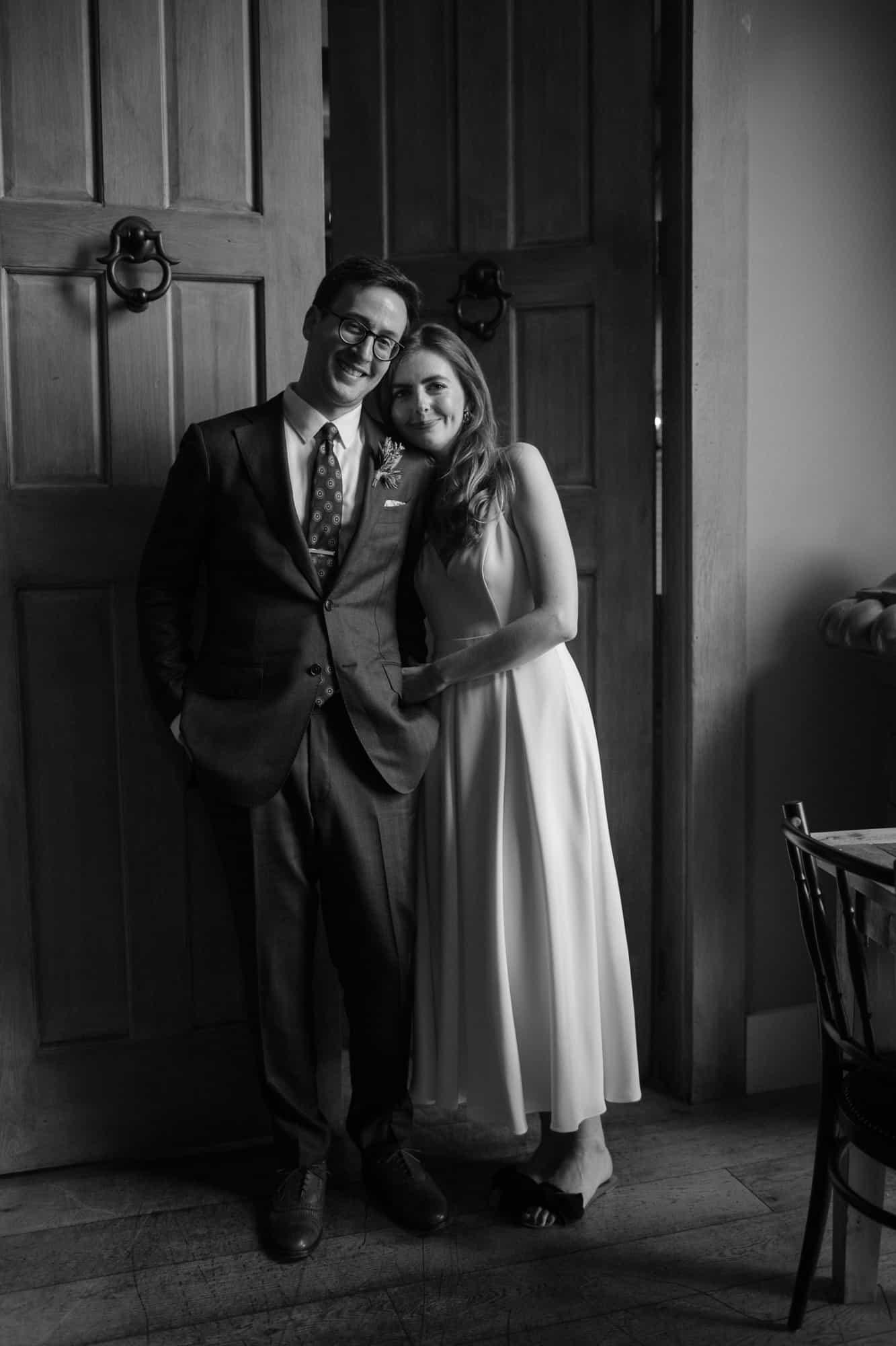 Boston Seaport Bastille Kitchen Elopement Wedding