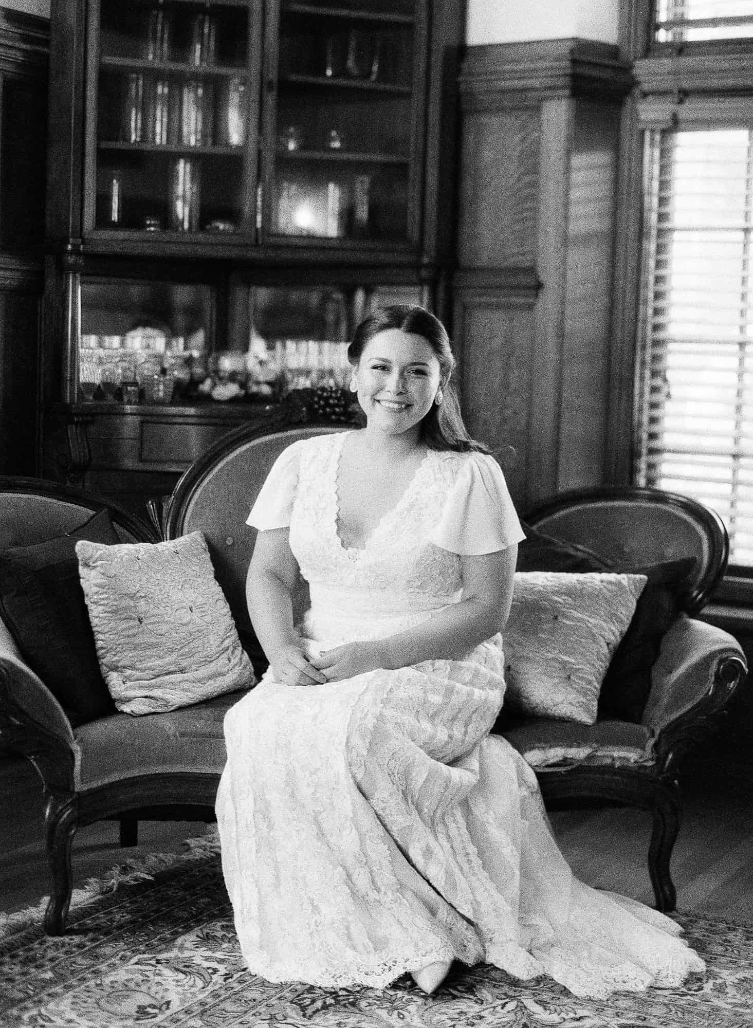 Turner Hill Mansion Wedding Bride