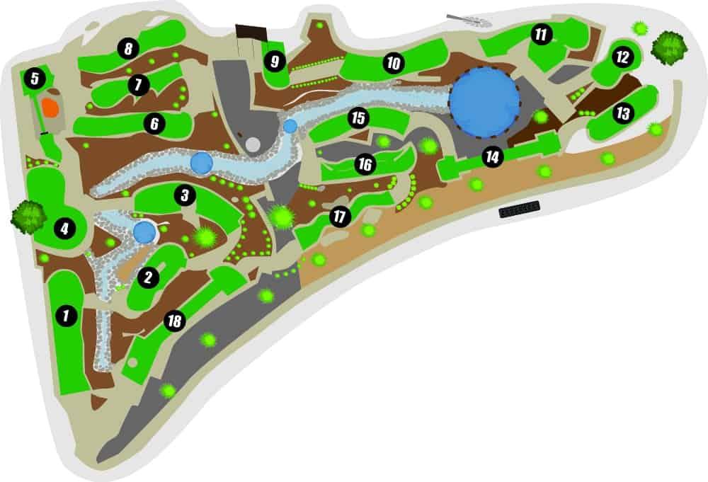 MiniGolf Map