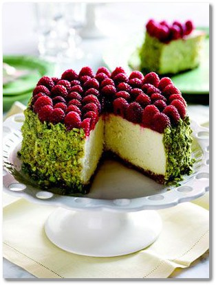 rasberry cheesecake